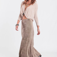 Close Finish Maxi Skirt