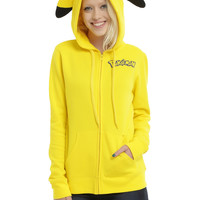 Pokemon Pikachu Girls Cosplay Hoodie