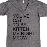 Athletic Grey T-Shirt | Funny Cat Sayings Shirts