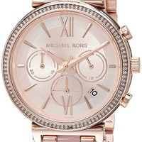 DCCK2JE Michael Kors Watches Womens Sofie Rose Gold-Tone Watch