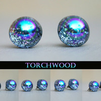 Torchwood Inspired 11mm Stud Earrings