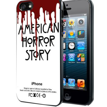 American Horror story Samsung Galaxy S3 S4 S5 Note 3 case, iPhone 4 4S 5 5s 5c case, iPod Touch 4 5 case