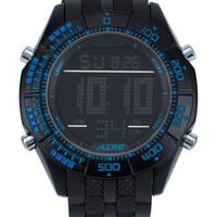 Engraved Rim Digital Watch