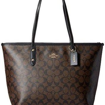 Coach Women's Signature City Zip Tote, Style F36876  COACH bag