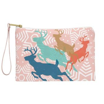 Heather Dutton Dashing Through The Snow Serene Pouch