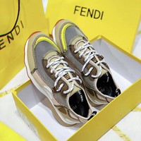 FENDI Mesh Fashion sneakers