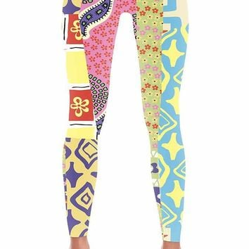 Women's Scooby Doo Collage Leggings