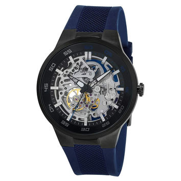 Kenneth Cole New York Men's 10022784 Automatic Analog Display Japanese Quartz Blue Watch