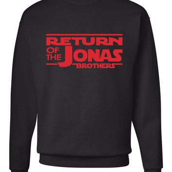 Return of the Jonas Brothers Crew Neck Sweatshirt (Sizes 3XL - 5XL)