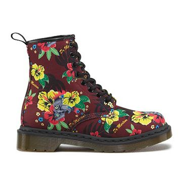 Dr. Martens Castel - Cherry / Hawaiian Punk Lace-Up Boot
