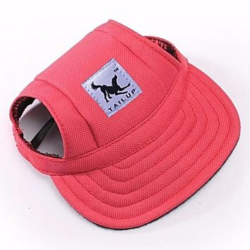 North Shore Outlet's Visor Outdoors Fashion Dog Baseball Sun Hat