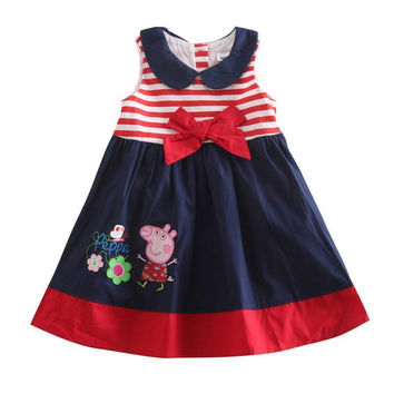 Peppa Pig Flowers And Butterfly Dress Infant,Toddlers -  2-3Y, 3-4Y, 4-5Y
