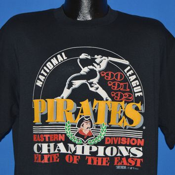 90s Pittsburgh Pirates NL Champions t-shirt Extra Large