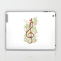 Song birds Laptop & iPad Skin by Wharton