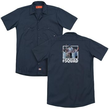 Sandlot - Squad (Back Print) Adult Work Shirt