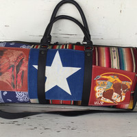 Totem SALVAGED Overnight Duffel