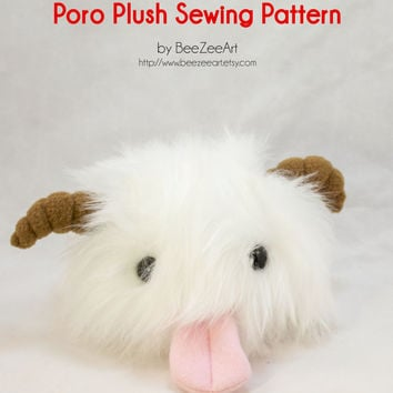 Poro Sewing Pattern and Tutorial