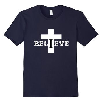 Godly Christian T-Shirt | I Believe In The Cross Of Jesus