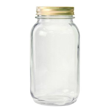 Anchor Hocking® 10986 Home Canning Jars, 1 Qt, 12-Pack