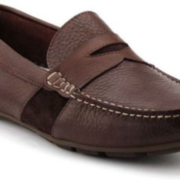 Sperry Top-Sider Wave Driver Penny Loafer DarkBrownLeather, Size 9.5M  Men's Shoes