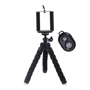 Universal Selfie Stick Tripod with Bluetooth Remote for Phone