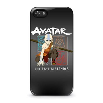 avatar last airbender iphone 5 5s se case cover  number 1