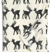 Nordstrom at Home 'Deer Date' Plush Throw