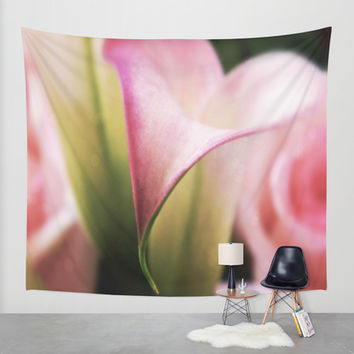 The Curve Wall Tapestry by DuckyB (Brandi)