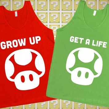 Super Mario Best Friend Shirts | lookhuman.com