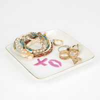 XO Jewelry Tray | Lighting & Decor