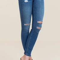 Suzette Knee Slit Jeans