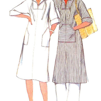 70s Hooded dress Boho style festival wear vintage sewing pattern Style 1903 Bust 36 vintage fashion pattern