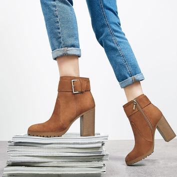 Buckle ankle boots - Boots & Ankle boots - Bershka Germany