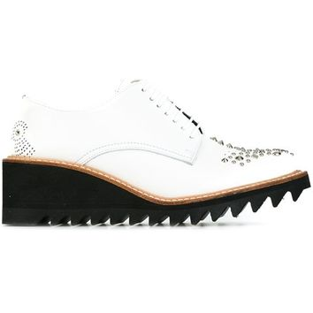 Y's Shark Sole lace-up Shoes - Farfetch