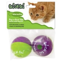 Play-N-Treat Ball Cat Toy