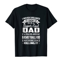 Super Cool Dad Of Awesome Basketball Kid Shirt
