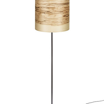 "FLAME ""5"" Floor Lamp Natural Ash Wood Veneer"