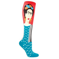Frida Khalo Knee High Socks