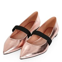 ASHLEY Pointed Elastic Shoe - New In This Week - New In