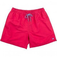 Classic Swim Trunks in Channel Marker Red by Southern Tide - FINAL SALE