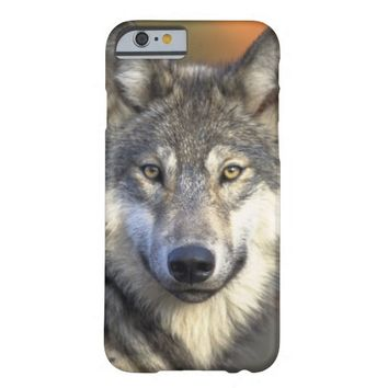 Wolf Face Barely There iPhone 6 Case