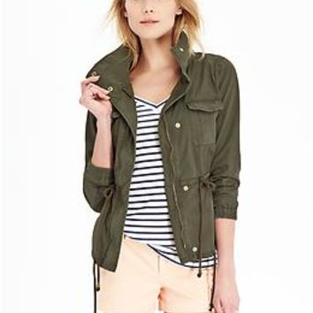 Women's Canvas Field Jackets