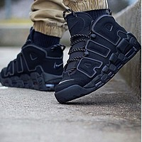 Nike Air More Uptempo x Supreme Men's and Women's Casual Sneakers Shoes