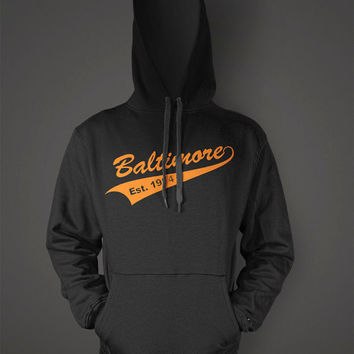 Orioles Established 1954 Hoodie | Baltimore Baseball | Orioles Baseball | Maryland Hoodie | Orioles Shirt | Baltimore Tee | Baltimore Shirt