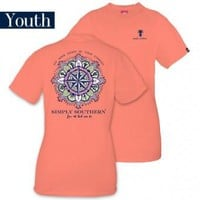 "Youth Simply Southern ""Compass"" Tee"