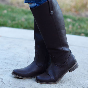 Camille Boots - Brown