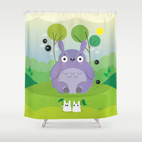 Cute neighbor Shower Curtain by Maria Jose Da Luz | Society6
