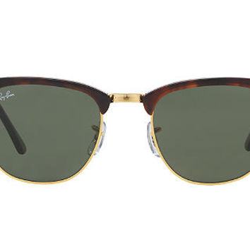 Ray-Ban RB3016 51 CLUBMASTER Sunglasses | Sunglass Hut