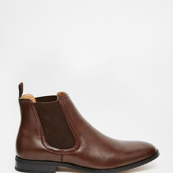 New Look Faux Leather Chelsea Boot
