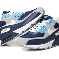 """Nike Air Max 90"" Men Sport Casual Multicolor Air Cushion Sneakers Running Shoes"